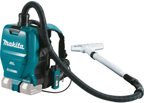 makita xcv05z cordless backpack