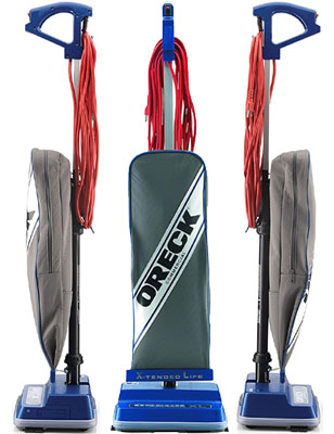 Oreck Commercial XL2100RHS XL Upright Vacuum Cleaner Is Bagged And Corded