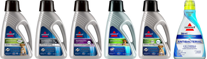 bissell 1986 proheat 2x cleaning formulas