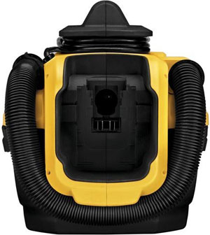 dewalt dcv581h max charging port