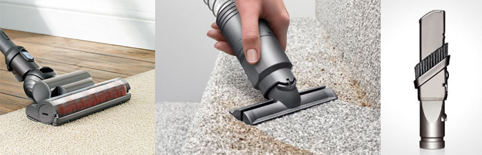 dyson ball multifloor canister vacuum tools