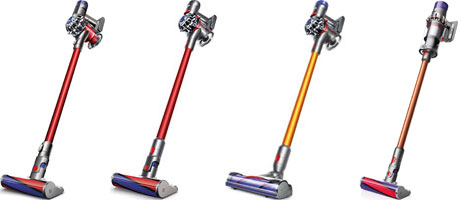 dyson v6 vs v7 vs v8 vs v10 cordless vacuums models. Black Bedroom Furniture Sets. Home Design Ideas