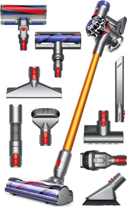 dyson v8 absolute extra tools