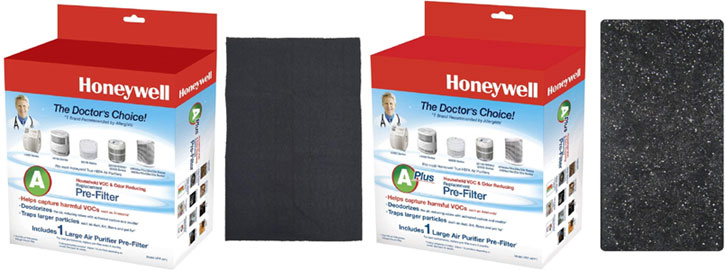 honeywell carbon filters