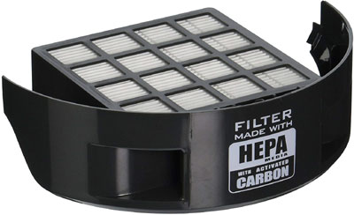 hepa media activated carbon air filter
