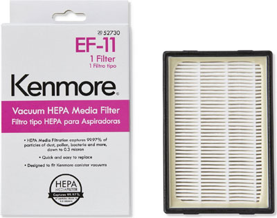 kenmore 52730 ef 11 hepa media filter