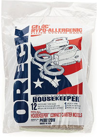 oreck commercial xl pro 5 canister vacuum bag