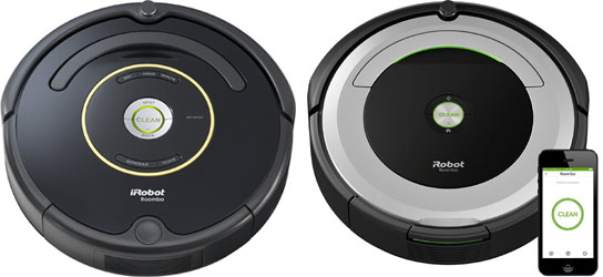 irobot roomba 650 vs 690