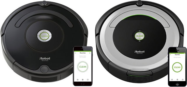 Irobot Roomba 675 And 690 Wi Fi Connected Robot Vacuum