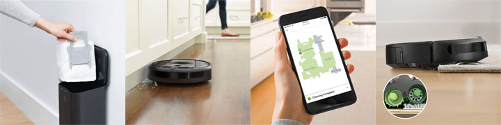 roomba i7 features
