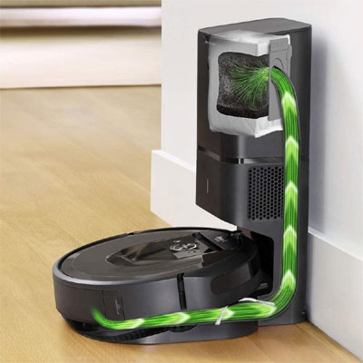 roomba i7plus dirt disposal